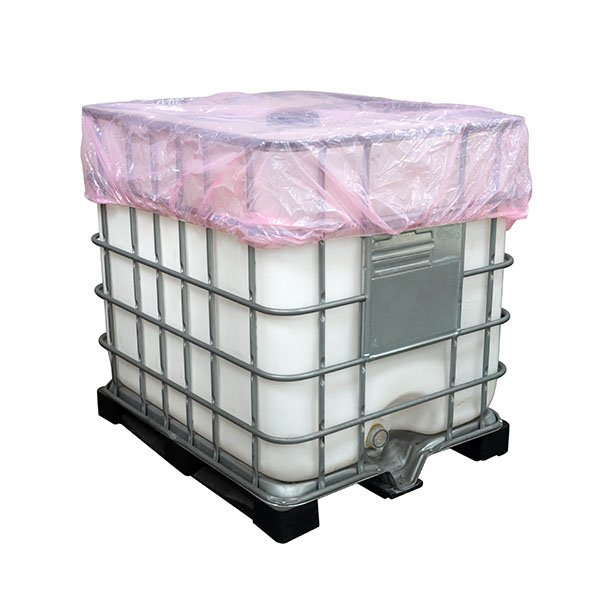 Elasticated Polythene Covers for IBC